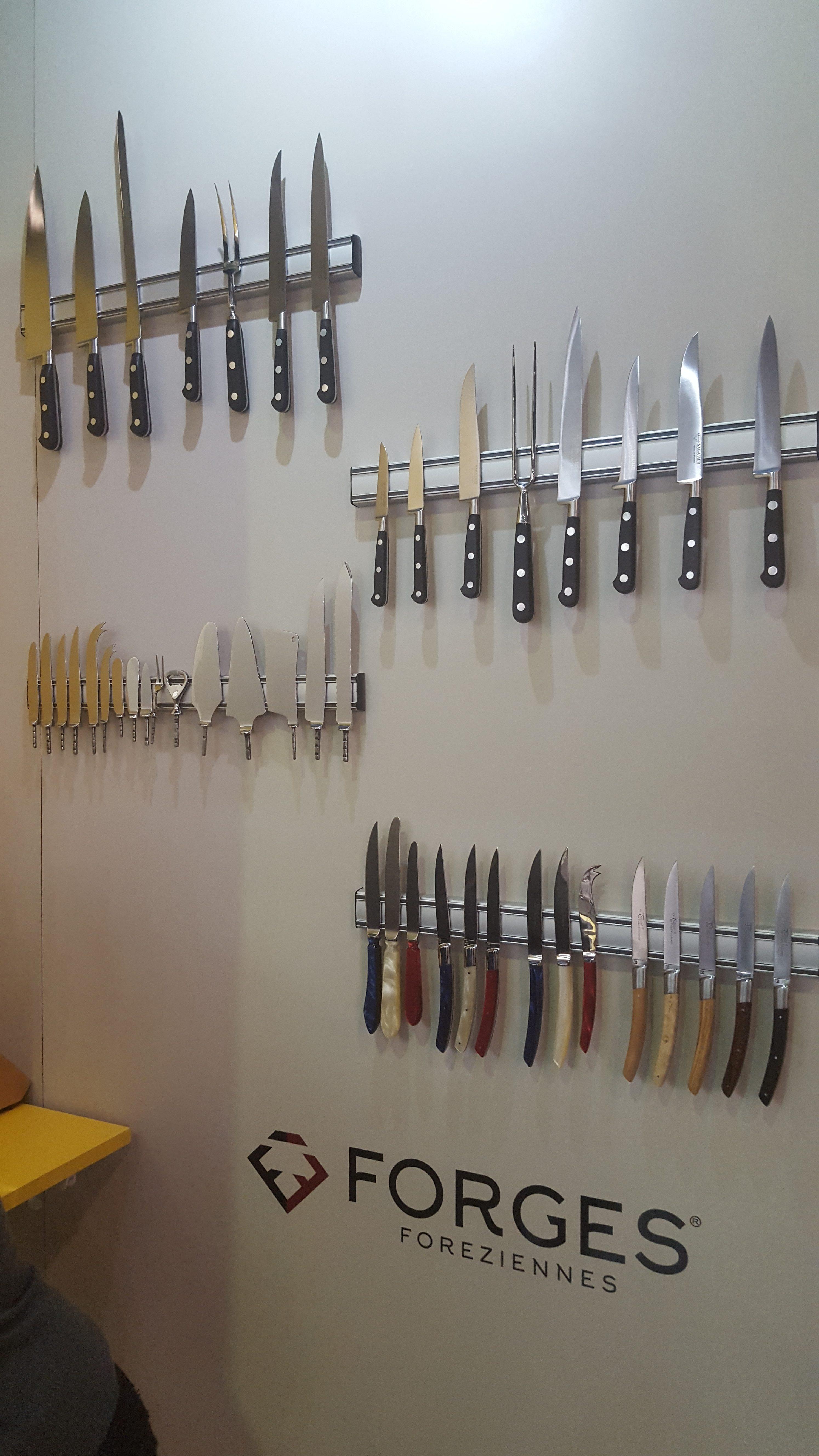 Couteaux de table et lames orfèvres FORGES FOREZIENNES - Ambiente 2019